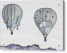 Two Balloons  Acrylic Print