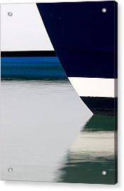 Two Boats Edgartown Acrylic Print by CJ Middendorf