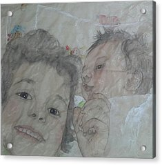 Two Brothers Acrylic Print