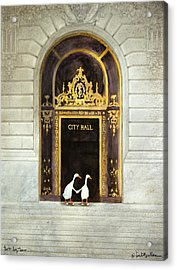 Two By Two... Acrylic Print by Will Bullas