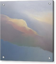 Acrylic Print featuring the painting Two Clouds by Cap Pannell