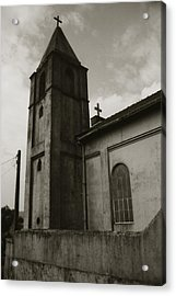 Acrylic Print featuring the photograph Two Crosses by Amarildo Correa