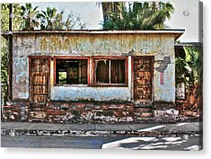 Acrylic Print featuring the photograph Two Door Model by Kandy Hurley