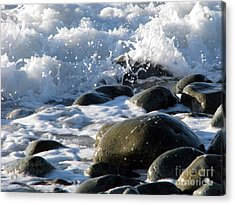 Two Elements Acrylic Print by Jola Martysz
