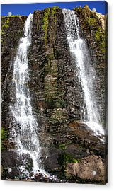 Two Falls Acrylic Print by Garry Gay