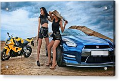 Two Fast Acrylic Print