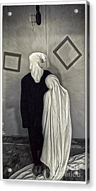 Two Ghosts Acrylic Print by Gregory Dyer
