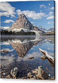 Acrylic Print featuring the photograph Two Medicine Morning by Jack Bell