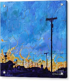 Two Minute Drive Acrylic Print by Michael Ciccotello