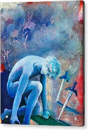 Two Of Swords Acrylic Print