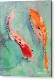 Two Of Us Acrylic Print by Robert Hooper