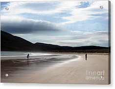 Two On A Beach Acrylic Print