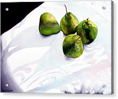 Two Pair Of Pears Acrylic Print