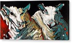Two Rams Acrylic Print