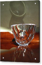 Acrylic Print featuring the photograph Two Reflections by Mary Bedy