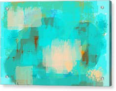 Two Sided World Acrylic Print by Len YewHeng