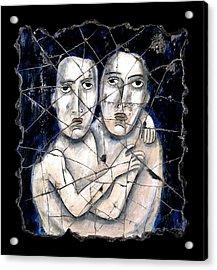 Two Souls Acrylic Print by Steve Bogdanoff