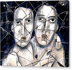 Two Souls - Study No. 1 Acrylic Print by Steve Bogdanoff