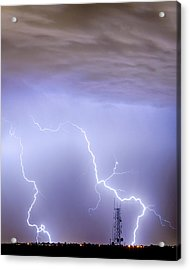 Two Strikes Acrylic Print by James BO  Insogna