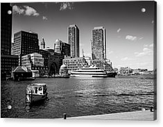 Two Towers Original Available Acrylic Print by Joelle Hainzelin