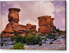 Two Towers Acrylic Print by Marty Koch