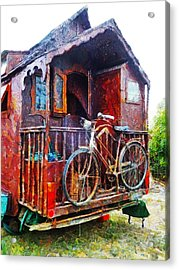 Two Wheels On My Wagon Acrylic Print