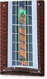 Two Windows At St. John Acrylic Print by Jennifer Apffel