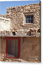 Two Windows Acrylic Print by Jennifer Nelson
