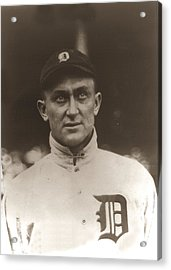 Ty Cobb 1915 Acrylic Print by Unknown
