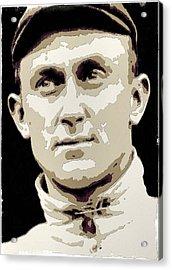 Ty Cobb Poster Art Acrylic Print