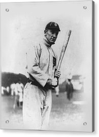 Ty Cobb Acrylic Print by Unknown