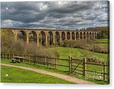 Ty Mawr Country Park Acrylic Print by Adrian Evans