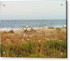 Tybee Island Beach Acrylic Print