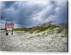 Tybee Island Acrylic Print by Donnie Smith