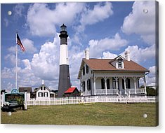 Acrylic Print featuring the photograph Tybee Island Light by Gordon Elwell