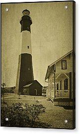 Tybee Island Light Station Acrylic Print by Priscilla Burgers