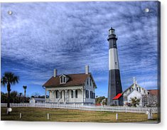 Tybee Island Lighthouse Acrylic Print by Donald Williams