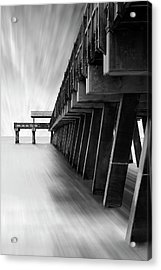 Tybee Island Pier Acrylic Print