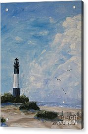 Tybee Light Acrylic Print