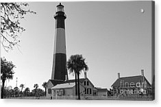 Tybee Lighthouse 1 Acrylic Print by D Wallace