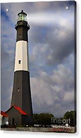 Tybee Lighthouse Acrylic Print by Linda Blair