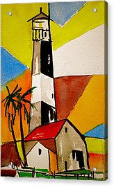 Tybee Lighthouse Acrylic Print by Pete Maier