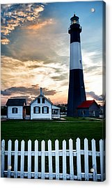 Tybee Lighthouse Acrylic Print