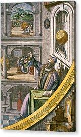 Tycho Brahe Acrylic Print by Joan Blaeu
