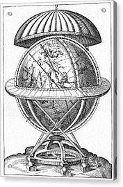 Tycho's Great Brass Globe Acrylic Print by Cci Archives