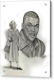 Tyler As Madea Acrylic Print by Joyce Hayes
