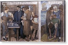 Tyndale's Bible, 1525-26 Acrylic Print