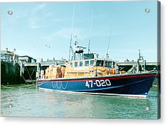Tyne Class Lifeboat 47-020  Acrylic Print by Ted Denyer