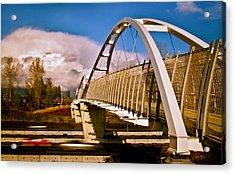 Tynehead Overpass Acrylic Print