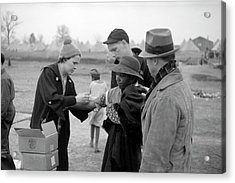 Typhoid Inoculation Acrylic Print by Library Of Congress